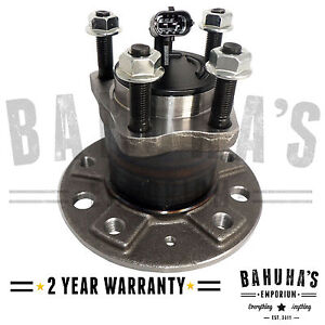 Vauxhall Astra H, Zafira B Rear Wheel Bearing & Hub 2004-On 5 Stud (2 Pin) *New*