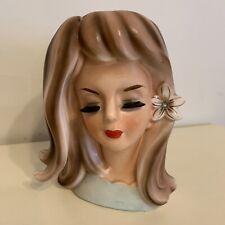 Lady Head Vase- Bridesmaid