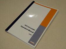 Case 1816 Uni-Loader Skid Steer Operators Manual Owners Maintenance Book NEW