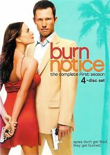Burn Notice The Complete First Season 11 Episodes 4-Disc DVD Set ~ FREE Shipping