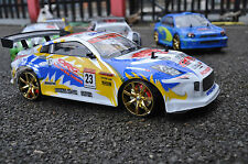 Nissan 350Z Style 4WD Drift Remote Control Car With 4 Extra Rubber Tyres