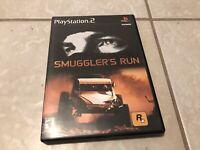 Smuggler's Run Complete PS2 Playstation 2 Game Rockstar