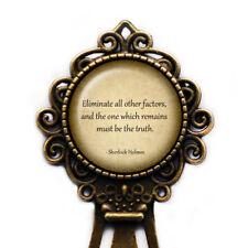 Sherlock Holmes Improbable Truth Bookmark