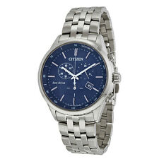 Citizen Sapphire Collection Blue Dial Mens Watch AT2141-52L