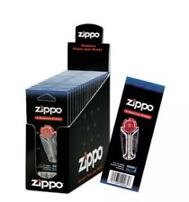 More details for genuine zippo lighter flint refill accessories 6 flints in a cart - pack of 24🌹