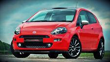 Spoilerlippe Frontspoiler Spoiler Diffusor für Fiat Punto EVO ab Bj. 2013 ABS