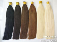 8A 16-24iNCH Pre-Bonded Keratin Stick I Tip 100% Remy Human Hair Extensions 1g