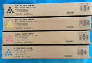 Genuine Ricoh Savin Lanier Toner SET IM C3500 C3000  842251 842252 842253 842254