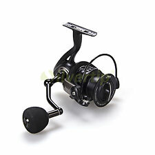 New DMK 11+1 BB 4.8:1 Spinning Fishing Reel Metal Handle EVA Knob DK5000F Black