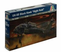 NEW ITALERI MODELS UH-60 BLACK HAWK NIGHT RAID 1:72 KIT HELICOPTER AIRCRAFT GAME
