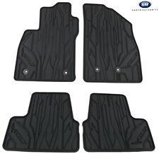 2016-2019 Chevrolet Volt Front & Rear All Weather Floor Mats 23201124 Black OEM