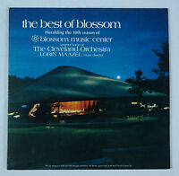 The Best of Blossom/Lorin Maazel & Cleveland Orchestra 2LP Telarc VG+