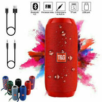 LOUD Bluetooth Speaker Wireless Stereo Bass USB/FM Radio Waterproof Outdoor NEW