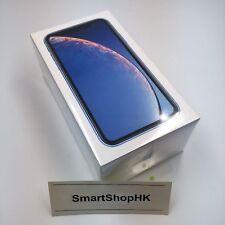 Apple iPhone XR 128GB Blue REAL Dual SIM Hong Kong A2108 Unlocked FedEx