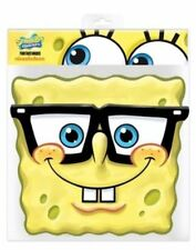 SpongeBob SquarePants Party Mask Card Fancy Dress TV Ladies Mens Kids Glasses