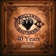 THE BELLAMY BROTHERS CD - 40 YEARS: THE ALBUM [2 DISCS](2015) - NEW UNOPENED