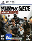 TOM CLANCY'S RAINBOW SIX SIEGE~ DELUXE EDITION~ PS5 (2021)~ NEW~ ONLY @ BEST BUY