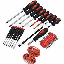 Neilsen 42 Piece Screwdriver Set Hex Pozi Philips Flat Slotted Insulated  0620*