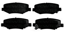 Disc Brake Pad Set-Galaxy Ceramic Disc Pads Rear NewTek SCD1274
