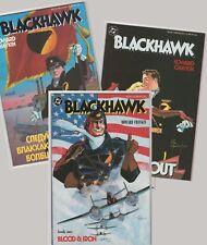 BLACKHAWK TPB SET (#1, 2, 3) Howard Chaykin DC 1987-88 VF prestige MOVIE planned