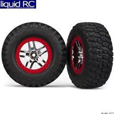 Traxxas 5877A Tire/Wheels Assembly Glued Slash 4x4 (2)