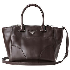 Auth Prada Topstitched City Calf Leather Twin Pocket Bag M COD PAYPAL