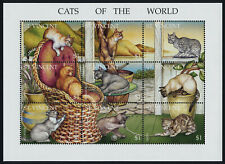 St Vincent 2152 MNH Cats of the World