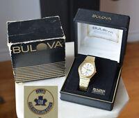 1980 Bulova ACCUTRON QUARTZ Swiss Cal. 2803.10 wristwatch GM ELITE SALESMAN CLUB