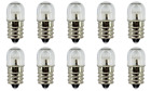Box of 10 Neon Bulb NE45 B7A Indicator 105 to 125 Volts AC/DC FREE RESISTORS