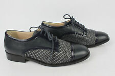 Derby Shoes Accessoire Diffusion all Leather Navy Blue T 35 Very Good Condition