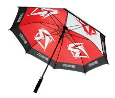 Risk Racing Pit Sonnen- und Regenschirm 127cm Motocross Schwarz/Rot