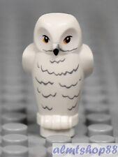LEGO - 1x White Owl - Animal Harry Potter Hedwig Bird Pet Castle Zoo Yellow Eyes