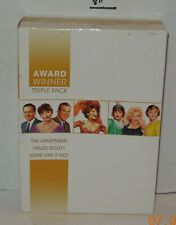 Award Winner Dvd Triple Pack The Apartment, Hello Dolly & some Like it hot