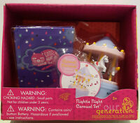 Our Generation Nightie Night Carousel Set Accessories With Sounds NEW