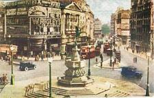 CPA coul. Piccadilly Circus London