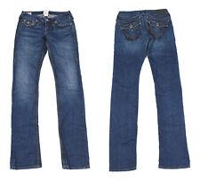 True Religion Blue Denim Slim Women Jeans W25