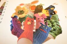 Supercotton Sock Puppets Knitting Pattern Booklet by Skacel for Infants