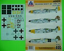 Avalon Decals 1/48_ Messerschmitt Bf-109 G-10