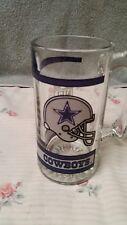 vintage dallas cowboys beer mug