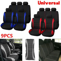 Auto Car Seats Covers 9 Set Full Car Styling Seat Cover for Interior Accessories