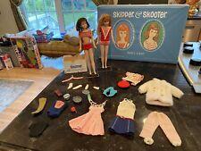 Ginger Skipper & Brunette Skooter Dolls W/ Case & Accessories