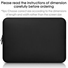 """Soft Laptop Sleeve Case Notebook Cover Bag Computer Pouch For 11""""~15"""" Asus Dell"""