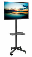 "VIVO Mobile TV Cart for LCD LED Plasma Flat Panel Stand w/Wheels fits 23"" to 55"""