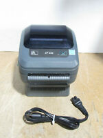 Tested Zebra ZP 450 Direct Thermal Label Barcode Printer 203dpi ZP450-0501-0006A