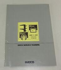 Schulungsunterlage Iveco Bremsanlage ABS + ASR Prüfschritte Elektronik v. 7/1989