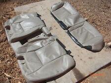 ((1999-2004)) ACURA RL 3.5 LEATHER REAR SEAT SKIN COVER ORIGINAL TAN SAND COLOR