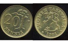 FINLANDE 20 pennia 1981  (  bis )