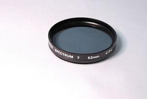 Used Promaster Spectrum 7 52mm C-PL Filter