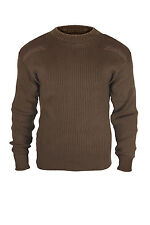 Men's Clothing Clothing, Shoes & Accessories New Mens Dockers Brown Patchwork Crewneck Sweater Size M Msrp $60 At Any Cost