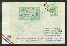 1946 Belgium rocket mail card - de Bruijn - Oostende - Ez 9C1